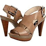 Michael Michael Kors Women s Carla Platform Sandal Taupe 9.5 B(M) US