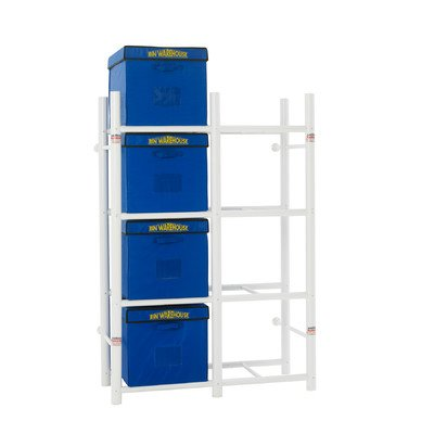 Bin Warehouse DFAE2M2X4BW0408 Tote Storage System for 8-Totes (Warehouse Storage compare prices)