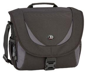 Tamrac 5723 Zuma 3 Photo/iPad Shoulder Bag (Black/Dark Gray)