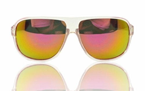 "90210 CALIFORNIA ""Summertime At The Beach"" Fire Iridium Aviator Sunglasses"