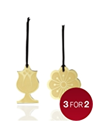 Set of 2 Metal Gift Tags