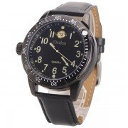 Oulm Black Dial Photochromic Glass Army Military Men's Sport Watch
