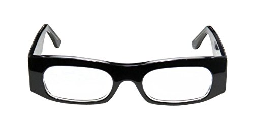 Harry Lary's Breaky Mens/Womens Rxable Comfortable Designer Full-rim Eyeglasses/Eye Glasses (48-20-0, (Green Ranger Morph Suit)