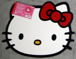 Hello Kitty FACE Sanrio Car Truck SUV Floor Utility Mat
