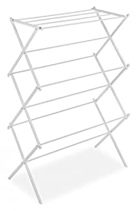 Whitmor 6023-741 Folding Clothes Drying Rack, White