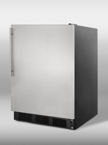 Compact Refrigerator With Glass Door front-270662