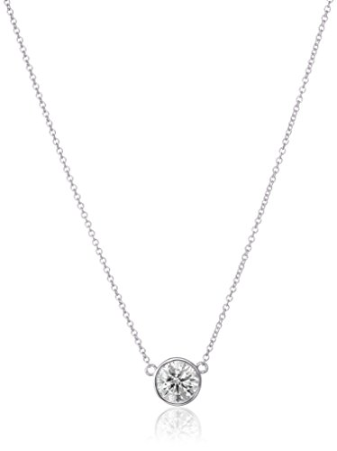 14k-Gold-Bezel-Set-Solitaire-Adjustable-Pendant-Necklace