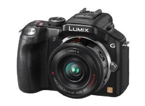 Panasonic 16 MP Camera with 14-42mm Zoom Lens and 3-Inch LCD