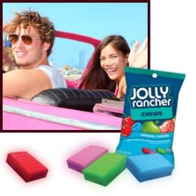 Jolly Rancher Chews Candy in Assorted Fruit Flavors