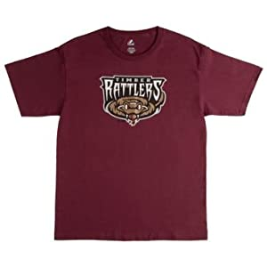 Wisconsin Timber Rattlers Minor League Replica Jersey Cotton Crewneck T-Shirt (8... by Team MLB - Authentic Sports Shop