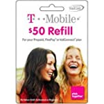 $50 T-Mobile Prepaid Refill Top Up Ca...