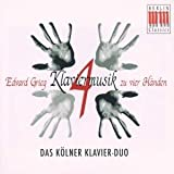 Grieg: Klaviermusik zu vier Hnden (Piano Music for Four Hands)