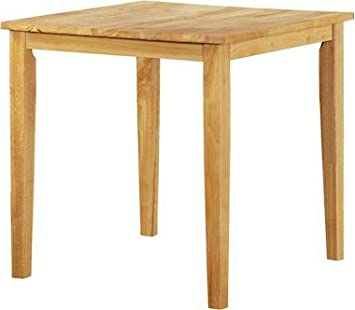 Kendall Traditional Square Rubberwood Dining Table