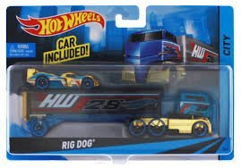 HOT WHEELS RIG DOG CITY CAR INCLUDED (Hot Wheels Dog compare prices)
