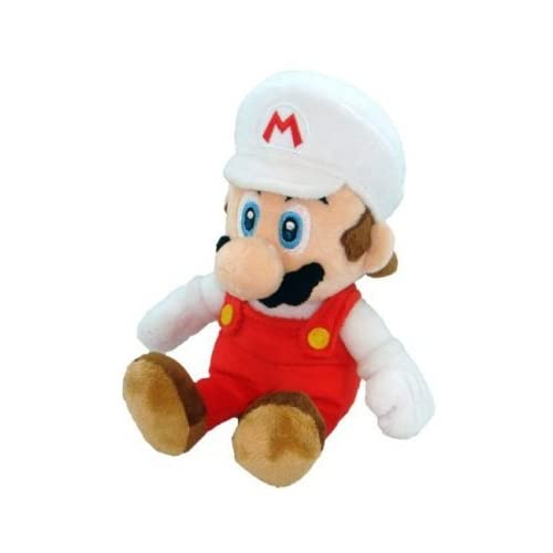 Nintendo Super Mario Bros. Fire Mario Plush Toys & Games