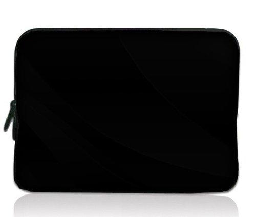 colorfulbags-plain-black-design-116-inch-laptop-notebook-tablet-chromebook-sleeve-case-bag-cover-for