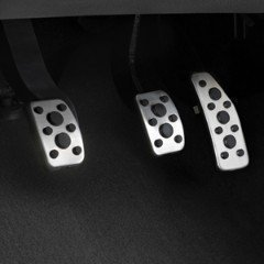 2013-2014 Chevrolet Spark Premium Stainless Pedal Covers by GM 95021042- Manual by Chevrolet (2014 Chevy Cruze Pedals compare prices)