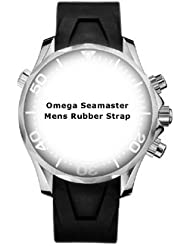NEW OMEGA SEAMASTER 20MM RUBBER STRAP 98000085