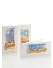 20 Religious Scene Christmas Mulitipack of Cards
