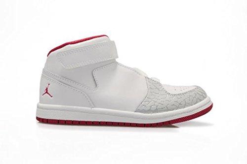 Nike - Pantofole a Stivaletto Unisex - Bambini , Bianco (White Sport Fuchsia Metallic Silver), 27 EU