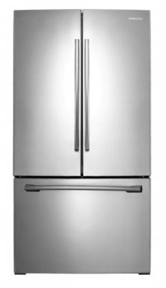 "Samsung Rf260Beae 36"" French-Door Refrigerator With Cool Select Pantry Storage And Removable Ice C, Stainless Steel front-39507"