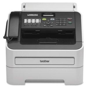Brother IntelliFax-2840 High-Speed Laser Fax - Laser - Monochrome Sheetfed Digital Copier - 20 cpm Mono - 300 x 600 dpi - 250 Sheets Input - Plain Paper Fax - Corded Handset - 33.60 Kbps Modem - FAX-2840
