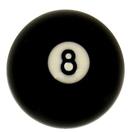 "Buy Discount # 8 Ball Regulation Size 2 1/4"" Pool Table Billiard Replacement"