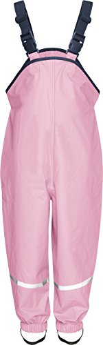 Playshoes Rain Dungarees Waterproofs Easy Fit Baby Girl's Trousers Rose Size 80