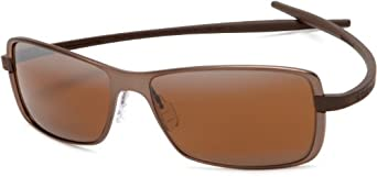 Tag Heuer Reflex 2 Sun 3781 702 Metal Sunglasses,Brown Ceramic Frame/Brown Lens,One Size