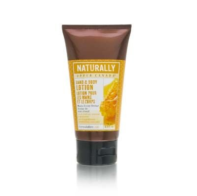 Upper Canada Naturally Warm Honey Nectar 75ml/2.5oz Hand & Body Lotion