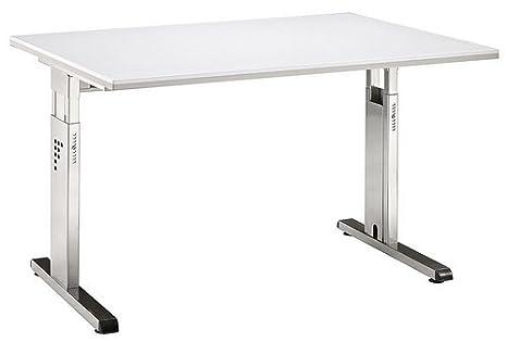 Bureau mEGA 120 x 80 cm blanc