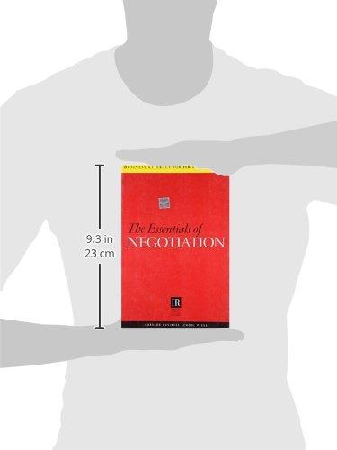 The Essentials Of Negotiation (Harvard SHRM)