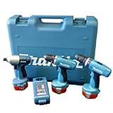 MAKITA 6281DP3-TP 14.4V Cordless Drill Driver + Combi + Impact Driver