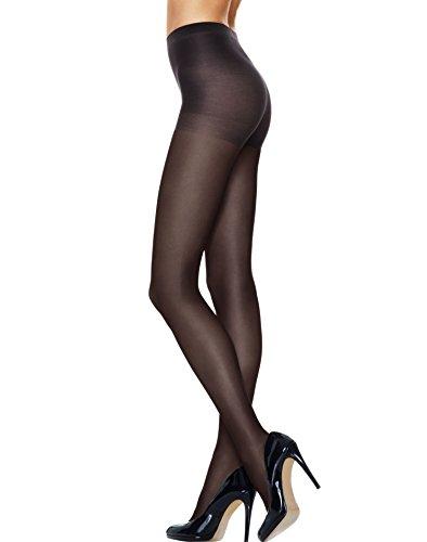 Hanes Ladies Sheer Tights With Control Top Panty 0b171 -Purple 3xl 0B171