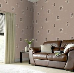 Superfresco Seasons Wallpaper - Mocha by New A-Brend