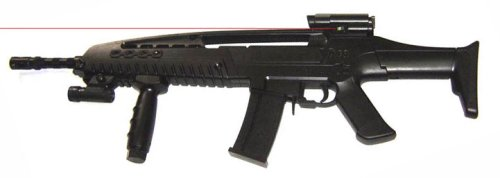 Boy XM8 Light Laser Spring Airsoft Rifle
