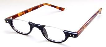 Amazon.com: Under Frame Reading Glasses, 1.00, Black: Clothing
