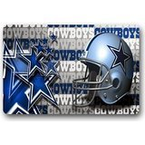Custom Welcome Dallas-Cowboys Entrance Mat,Indoor/Outdoor Doormat,Door Mats 23.6''(L) x 15.7''(W)