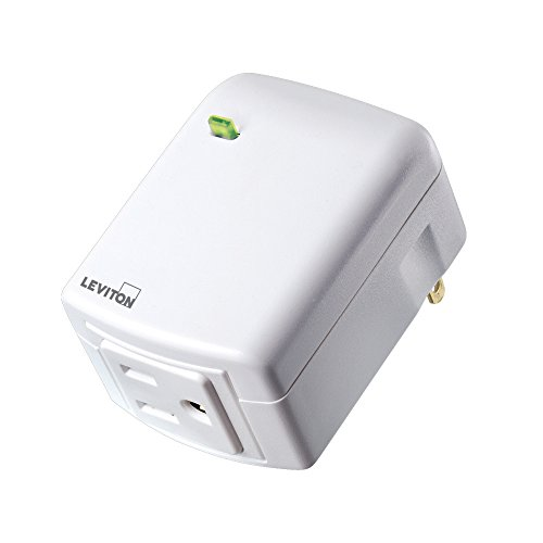 Leviton Decora Smart Plug, Appliance Module, Z-Wave, 15-Amp, Works with Amazon Alexa (Zwave Plug In Module compare prices)