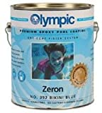 Olympic Zeron Epoxy Pool Coating Gallon - Bikini Blue