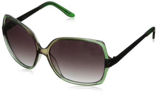 union-bay-womens-u227-square-sunglassesgreen-grey60-mm