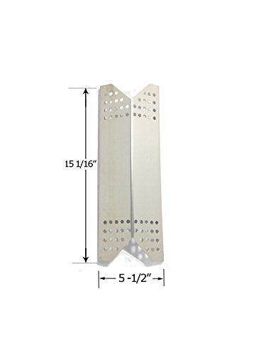 Stainless Steel Heat Plate Replacement for Kenmore Sears, Nexgrill, Sunbeam Grillmaster, Uberhaus Gas Grills