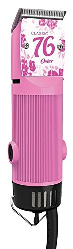 Oster Classic 76 Hair Clipper Professional Pro Salon Pink Flower Color (Metal Blades For Oster 76 compare prices)