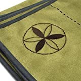 Yoga Towel for Bikram & Hot Yoga From Ylayaa Improves Posture,prevent Falls with Easy Guides,premium Yoga Towels Are Non Slip, Absorbent,eco-microfiber,26x72 Inches, Enhance Your Yoga Experience!