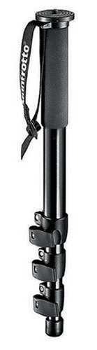 Manfrotto 680B 4 Section Monopod Black