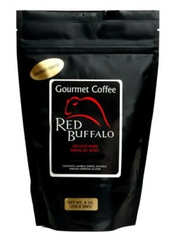 Red Buffalo Angel Lace Cookie Flavored Decaf Coffee, Ground, 1 pound