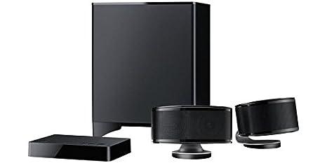 Onkyo canal 2.1 système de haut-parleurs pour TV/DTS, Dolby Digital Studio Sound, Bluetooth et caisson de basses, streaming audio sans fil)