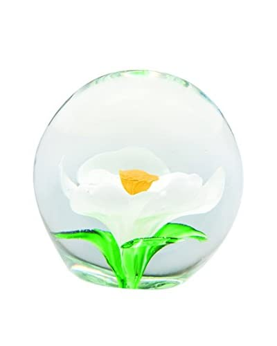 Dynasty Gallery Glass Magnolia, White