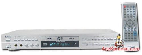 Cavs Dvd-203g_blk Dvd/ Super Cdg (Scdg)/ Cdg (Cd+g) Karaoke Player (Black)