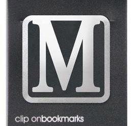 lettre-m-clip-on-metal-signet-pour-livre